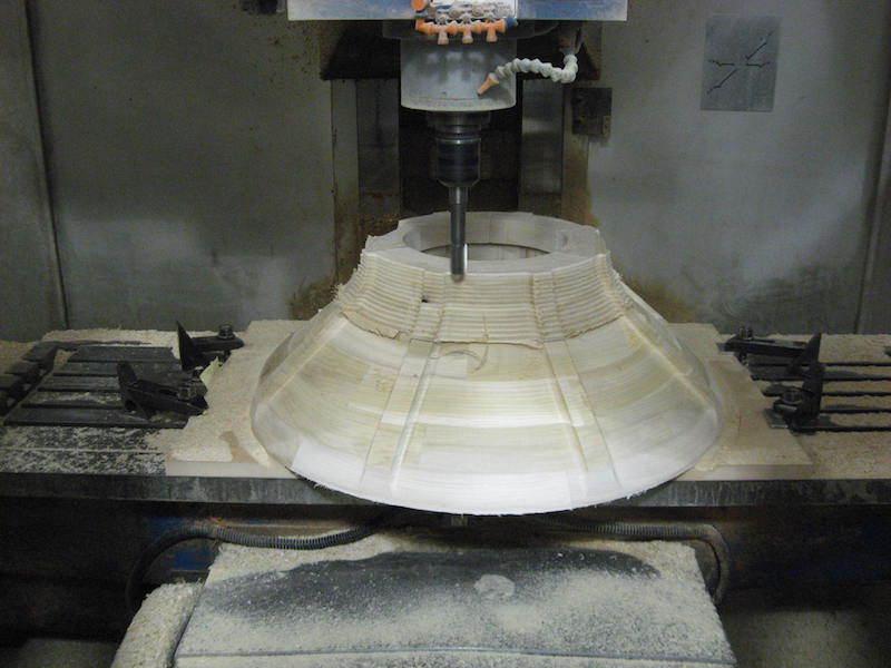 CNC Cutting a Wooden Pattern